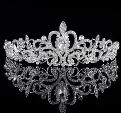 1 pçs/lote BlingBling barato por atacado nupcial da coroa de cristal rhinestone pave jóia do casamento para moda tiara nupcial jóias em Jóias para cabelo de Jóias no AliExpress.com | Alibaba Group
