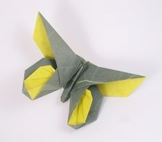 Origami Butterfly - Anne LaVin by Michael G. LaFosse folded by Gilad Aharoni on www.giladorigami.com