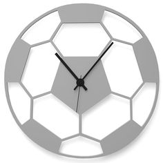 Wall Clock FOOTBALL by Wandkings