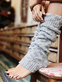 Nub Yarn Legwarmer