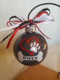 Pet Accessories, For My Dog, Custom Ornaments, Vinyl Ornaments, Gifts For Animals, Pet Products, In Memory Of, Unique For Pets, Pets