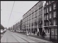 Amsterdam: De Frederik Hendrikstraat met Concordia Inter Nos in de jaren '70