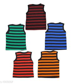 Innerwear Cute Cotton Kids Vest (Pack of 5) Fabric: Cotton Sleeves: Sleeves Are Not Included Size: Age Group (0 Months - 3 Months) - 10 in Age Group (3 Months - 6 Months) - 12 in Age Group (6 Months - 9 Months) - 12 in Age Group (9 Months - 12 Months) - 14 in Age Group (12 Months - 18 Months) - 16 in Age Group (18 Months - 24 Months) - 18 in Age Group (2 - 3 Years) - 20 in Age Group (3 - 4 Years) - 22 in Age Group (4 - 5 Years) - 24 in Type: Stitched Description: It Has 5 Pieces of Kids Vest Work: Printed Sizes Available: 0-3 Months, 0-6 Months, 3-6 Months, 6-9 Months, 6-12 Months, 9-12 Months, 12-18 Months, 18-24 Months, 0-1 Years, 1-2 Years, 2-3 Years, 3-4 Years, 4-5 Years, 5-6 Years *Proof of Safe Delivery! Click to know on Safety Standards of Delivery Partners- https://ltl.sh/y_nZrAV3  Catalog Rating: ★4.1 (4127)  Catalog Name: Kids' Vest Pack Of 5 CatalogID_167403 C59-SC1187 Code: 091-1309587-