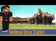 Minecraft Build Tutorial Tutorial Medieval Horse Stable: Quick and Easy! :: Let's Build A Quick And Easy Horse Stable! Minecraft Stables, Minecraft Buildings, How To Play Minecraft, Minecraft Stuff, Minecraft Ideas, Xbox Pc, Ps3, Medieval Horse, Minecraft Medieval