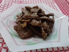 Danni e Lype: Shogayaki de Carne