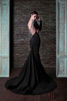 "Rami Kadi ""Le gala des mystères"", A-H 2013-2014 - Haute couture - http://fr.flip-zone.com/fashion/couture-1/independant-designers/rami-kadi-4295"