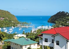 St Lucia the perfect place for your next perfect vacation, destination wedding or honeymoon. St Lucia Caribbean, Caribbean Vacations, Romantic Getaway, World Heritage Sites, Vacation Trips, Night Life, The Good Place, Places, Beautiful