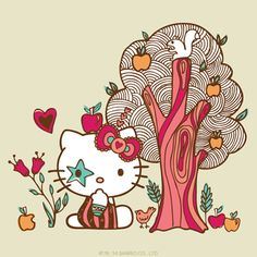 #HelloKitty gets closer to nature