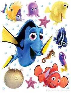 Παιδικά αυτοκόλλητα με τον αγαπημένο μας Nemo της Disney