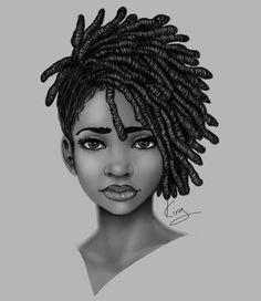 Black art prints for sale by black artist Sexy Black Art, Black Love Art, Black Girl Art, Black Art Painting, Black Artwork, African American Art, African Art, Natural Hair Art, Black Art Pictures