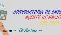 Convocatoria 2020 | Plazos Administrativos – Agente de Hacienda Pública – Oposiciones Summoning, Haciendas