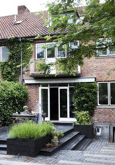 Rækkehus indrettet med nyt design og genbrug   Bobedre.dk