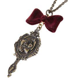 Q-pot. 白雪姫 マジックミラー ネックレス
