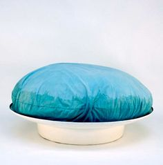 Antti Nurmesniemi and Vuokko Nurmesniemi; Fiberglass 'Bubble on the Beach' Stool, 1967.