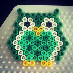 Owl hama beads by millelykke