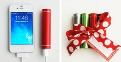 Stocking Stuffer-Portable External Phone Charger