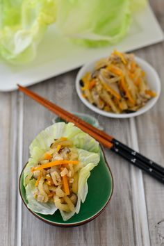 Shitake Mushroom + Lentil Asian Tacos Recipes | Food/ Recipes ...