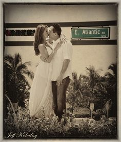 Delray Beach Engagement photo by Jeff Kolodny