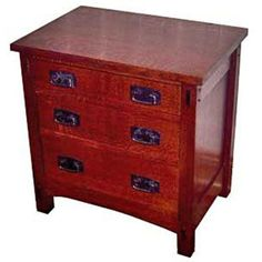 Buy Woodworking Project Paper Plan to Build Mission Nightstand at Woodcraft.com