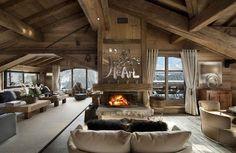 Risultati immagini per case di montagna interni