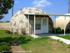 A Monolithic dome home located on the MDI campus in Italy, Texas.