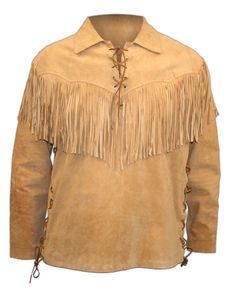 Native American Survival Techniques that withstand the test of time for of years and able to face every hurdles nature threw at them. The total overview to teaching you food hunting,fishing, fighting, making survival tools, medical cures and more. Fringe Shirt, Fringe Leather Jacket, Leather And Lace, Suede Leather, Leather Jackets, Cow Leather, Smooth Leather, Real Leather, Mountain Man Clothing