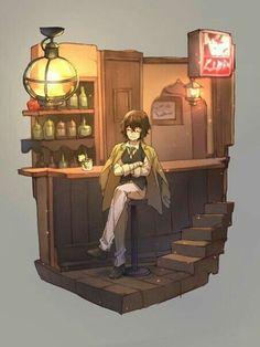 All Anime, Anime Guys, Manga Anime, Dazai Bungou Stray Dogs, Stray Dogs Anime, Yokohama, Animal Jam, Fictional World, Dazai Osamu