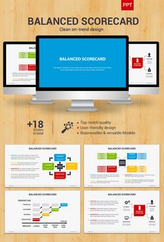 Balanced Scorecard - Powerpoint Template #powerpoint #powerpointtemplate Download: http://graphicriver.net/item/balanced-scorecard-powerpoint/8988604?ref=ksioks   JAMSO is available for publis speaking events. We focus on goal setting, KPI management and business intelligence . http://www.jamsovaluesmarter.com