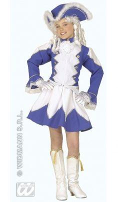 Deguisement Majorette Bleue