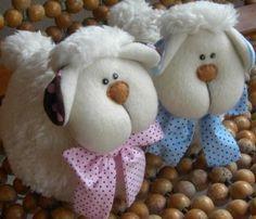 Carneirinhos decoração baby