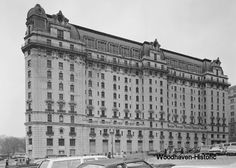 Willard Hotel ca. 1976 back when it was derelict and fans were trying to save it from the wrecking ball.  (Now restored)