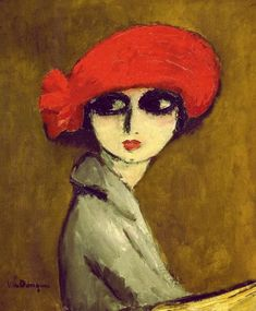 The corn poppy 1919 Kees van Dongen    This has been one of my very favorite paintings since  saw it in the Houston MFA years ago.  Love!