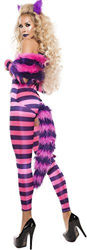Cheshire Cat Costume Adult Aice in Wonderland Halloween Fancy Dress Halloween Wigs, Sexy Halloween Costumes, Halloween Fancy Dress, Cat Costumes, Cosplay Costumes, Halloween 2020, Tween Costumes, Costumes For Women, Group Costumes
