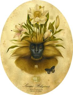 by Lindsey Carr. (Where flora and fauna begin to meet.)