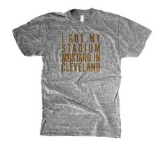 I Got My Stadium Mustard in Cleveland.....where else? ~ Cleveland, Ohio