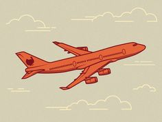 Retro Airplane Illustration                                                                                                                                                      More
