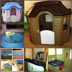 148 best diy tikes playhouse makeover images ideas gardens rh pinterest com