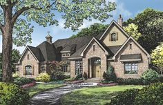 ePlans European House Plan –2834 Square Feet and 3 Bedrooms from ePlans – House Plan Code HWEPL75882