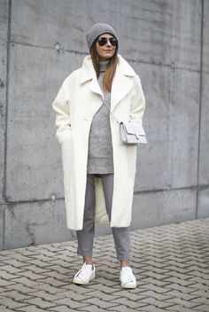 3 Ways To Wear White This Winter - The Closet Heroes