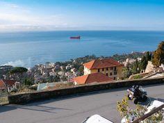 Il quartiere di Sant'Ilario a Genova - Foto Vagabonde