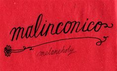 Learning Italian Language ~  Malinconico