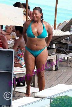 Big and beautiful Queen Latifah