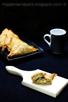 Buckwheat phyllo pie with tofu and leeks - Vegan