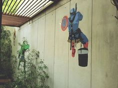 Graffiti at Distric-N,Hyderabad, India. #captamerica #superheros www.hoozinc.com