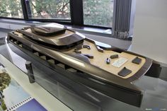 In Pictures: Coventry University Transport Design Degree Show 2015 « Form Trends Yatch Boat, Coventry University, Show Boat, Classic Yachts, Speaker Design, Yacht Design, Transportation Design, Model Ships, Water Crafts