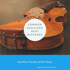 Common Shoulder Rest Mistakes