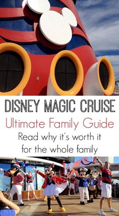 The Ultimate Family Guide to a Disney Magic Cruise disney cruise, crusing with disney #disney #cruise #cruising
