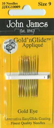 Gold Eye Milliners Hand Needle Size 9