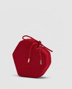 Image 7 of BRAIDED HEART CROSSBODY BAG from Zara