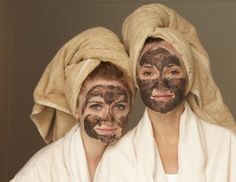 My gosh, for a minute there, I thought this was my daughter and I - LOLOL!  Homemade Facial Mask for Pimples